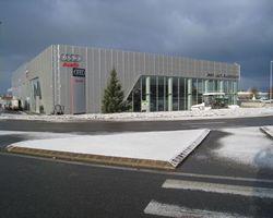 Terminal Audi à Annemasse